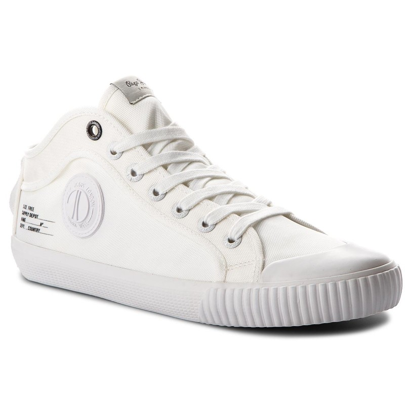 Sportschuhe PEPE JEANS-Industry Nylon PMS30427 White 800