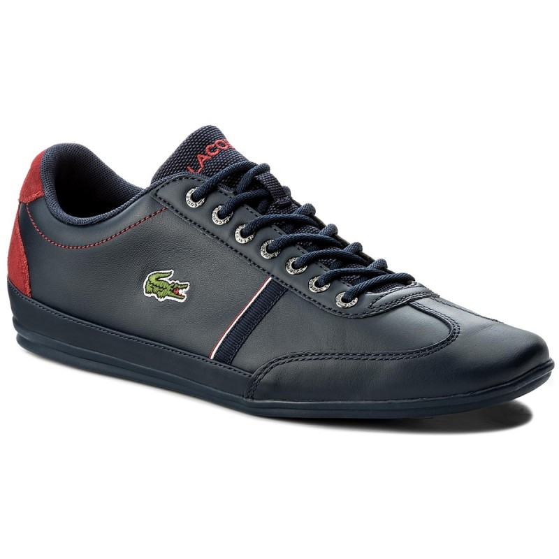 Sneakers LACOSTE-Misano Sport 118 1 Cam 7-35CAM0083144 Nvy/Red