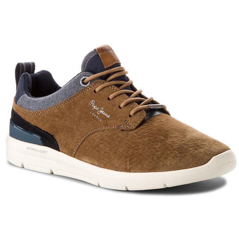 Sneakers PEPE JEANS-Jayden 21 Essentials PMS30409 Tabacco 859
