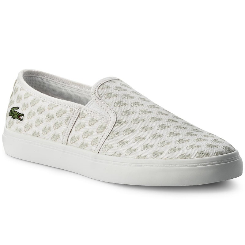 Turnschuhe LACOSTE-Gazon 118 1 Caw 7-35CAW000765T Wht/Off Wht