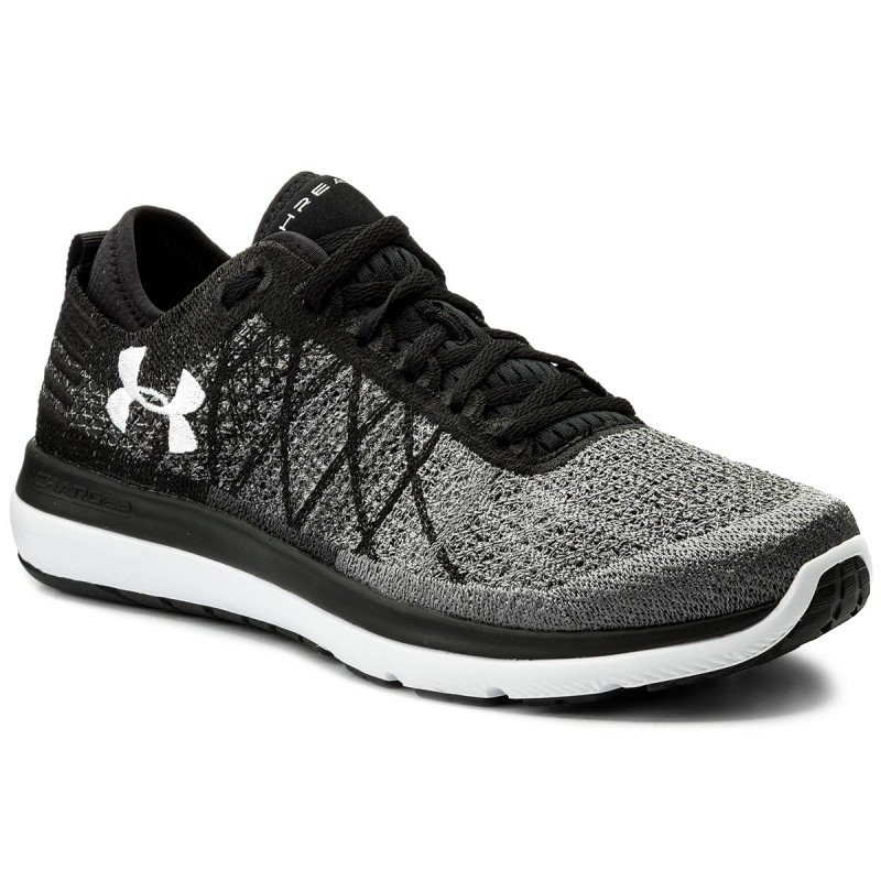 Schuhe UNDER ARMOUR-Ua Threadborne Fortis 1295734-001 Blk/Sty/Wht