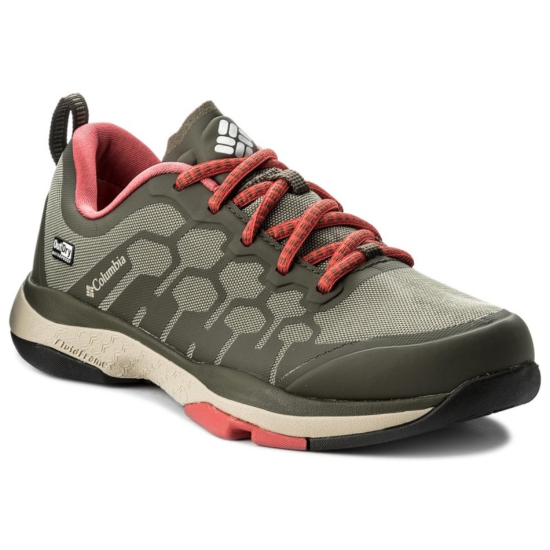 Schuhe COLUMBIA-ATS Trail FS38 OutDry BM2764 Cypress/Sunset Red 316
