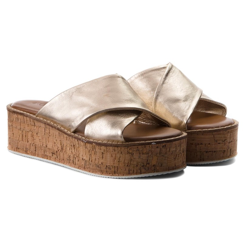 Pantoletten INUOVO-8005 Gold