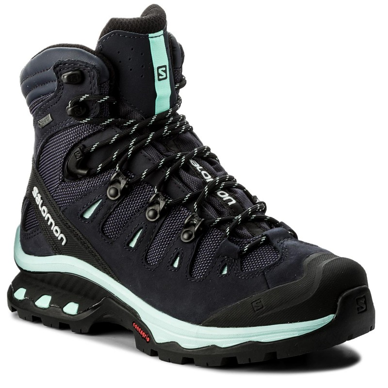 Trekkingschuhe SALOMON-Quest 4D 3 Gtx W GORE-TEX 401570 20 G0 Graphite/Night Sky/Beach Glass