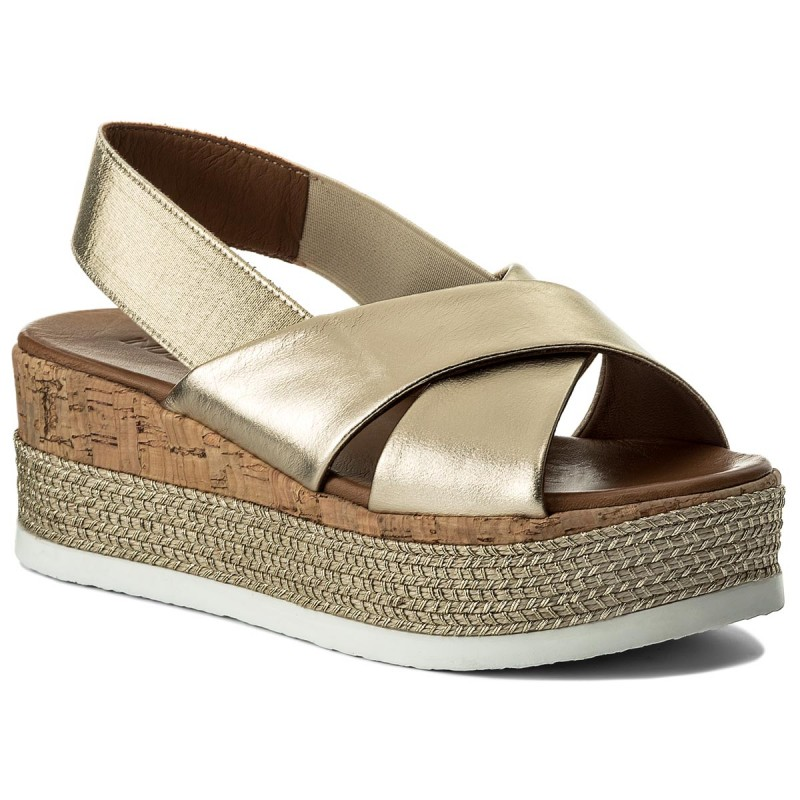 Espadrilles INUOVO-8761 Gold/Gold
