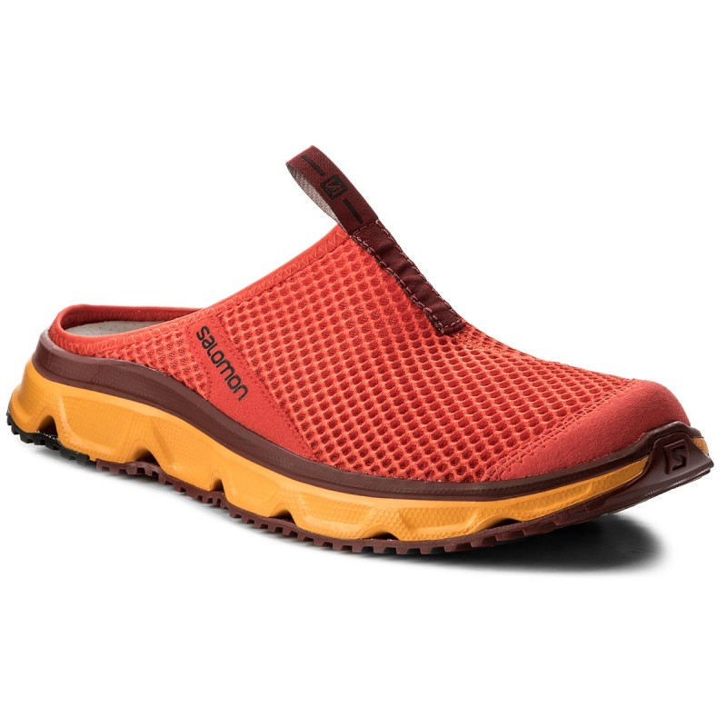 Pantoletten SALOMON-Rx Slide 30 402410 27 M0 Fiery Red/Bright Marigold/Syrah