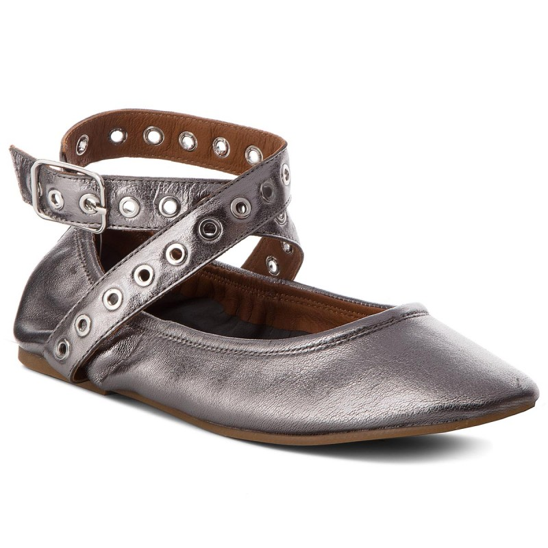 Halbschuhe INUOVO-9068 Pewter
