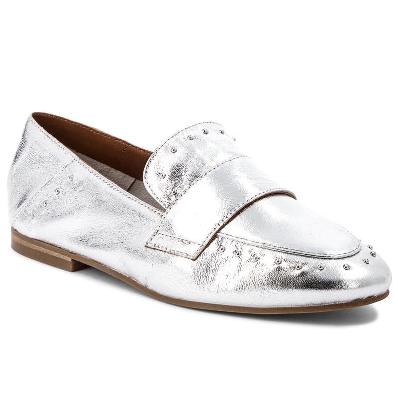 Lords Schuhe INUOVO-9076 Silver