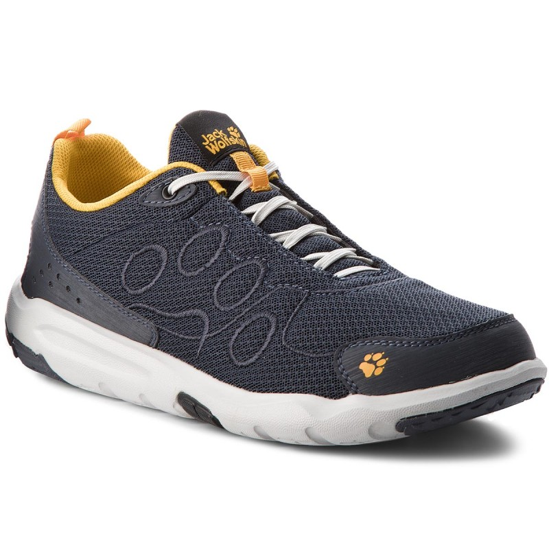 Halbschuhe JACK WOLFSKIN-Monterey Ride Low M 4018911 Burly Yellow
