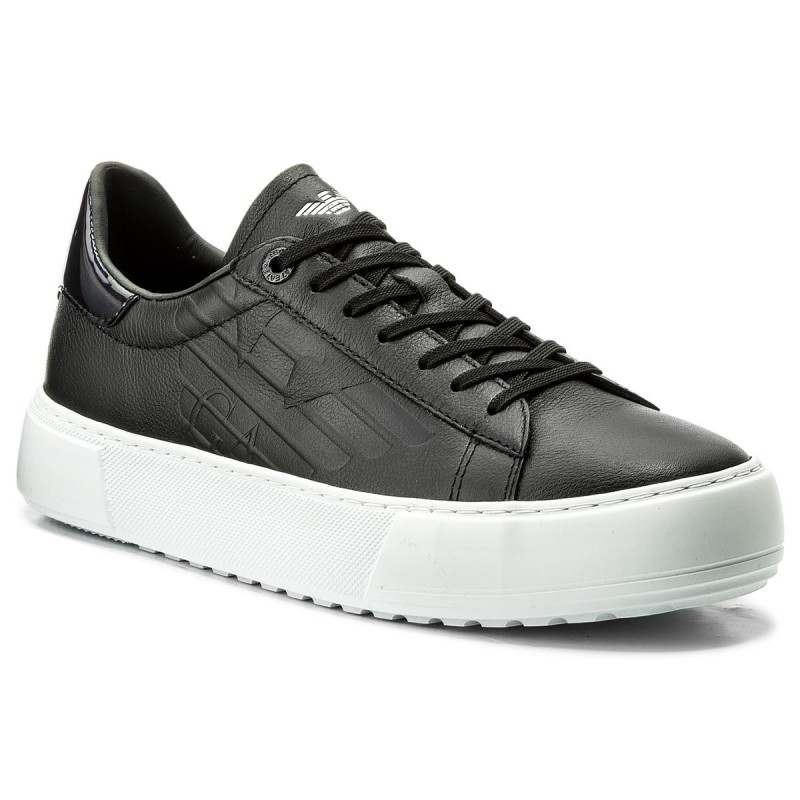Sneakers EA7 EMPORIO ARMANI-Classic Fashion Low U 248005 8P299 00020 Black