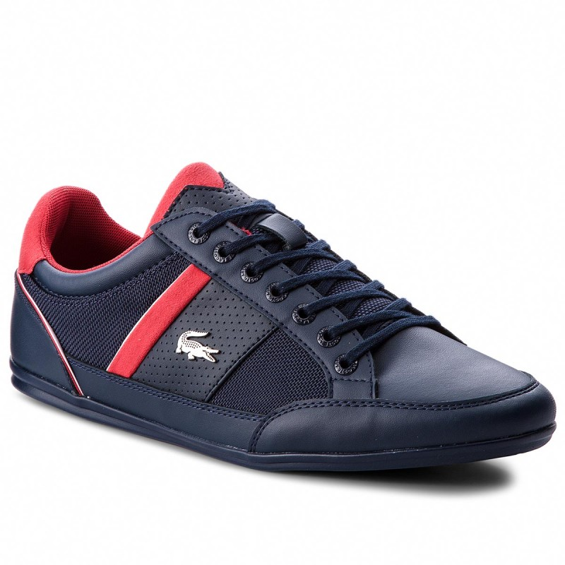 Sneakers LACOSTE-Chaymon 218 1 Cam 7-35CAM0013144 Nvy/Red
