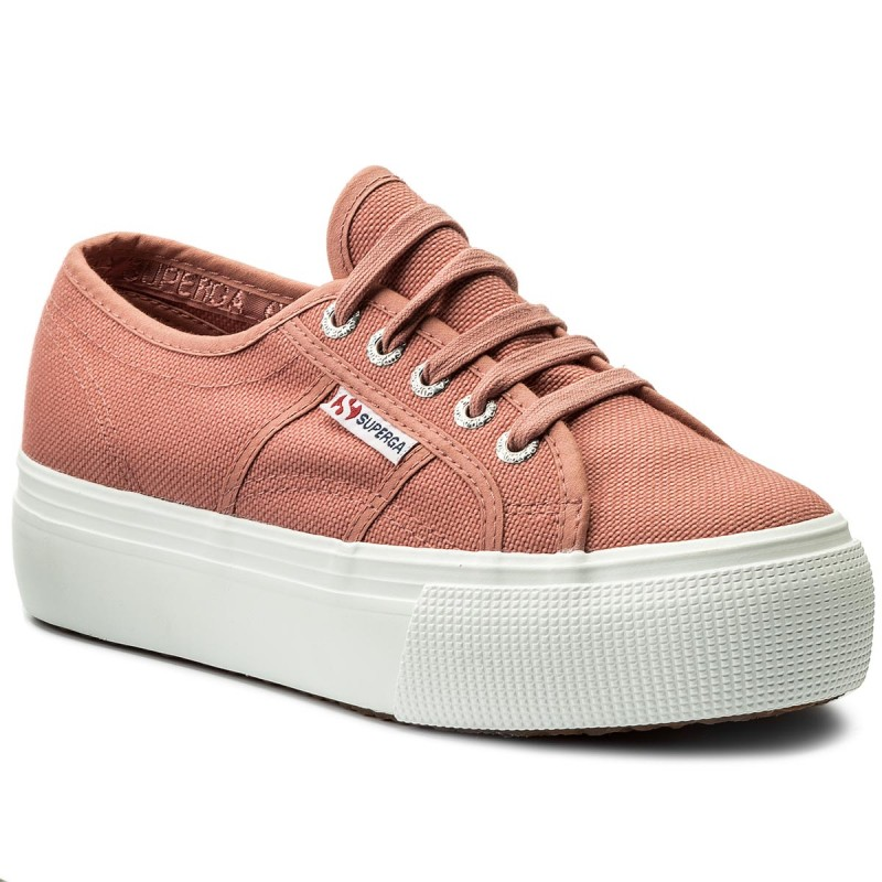 Turnschuhe SUPERGA-2790 Acotw Linea Up And Down S0001L0 Dusty Rose C06