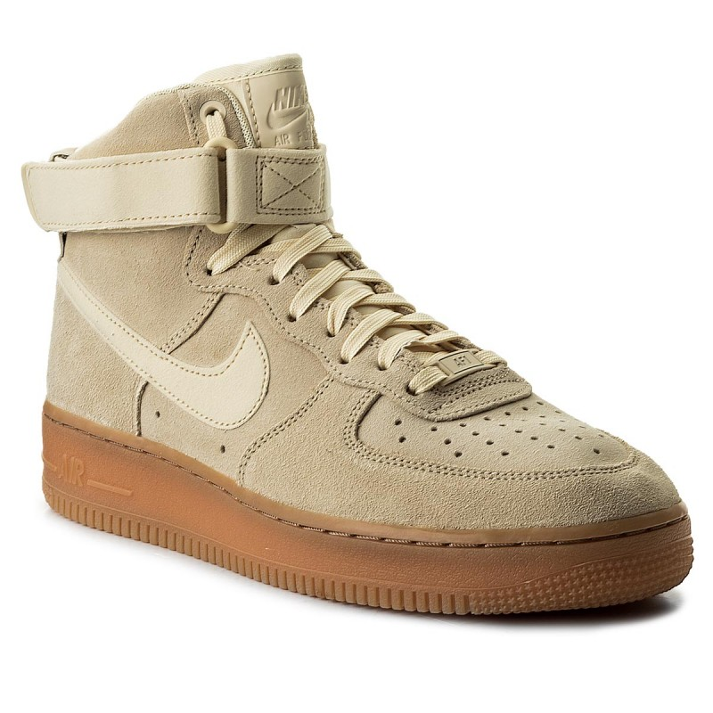 Schuhe NIKE-Air Force 1 High AA1118 100 Muslin/Muslin/Gum Med Brown