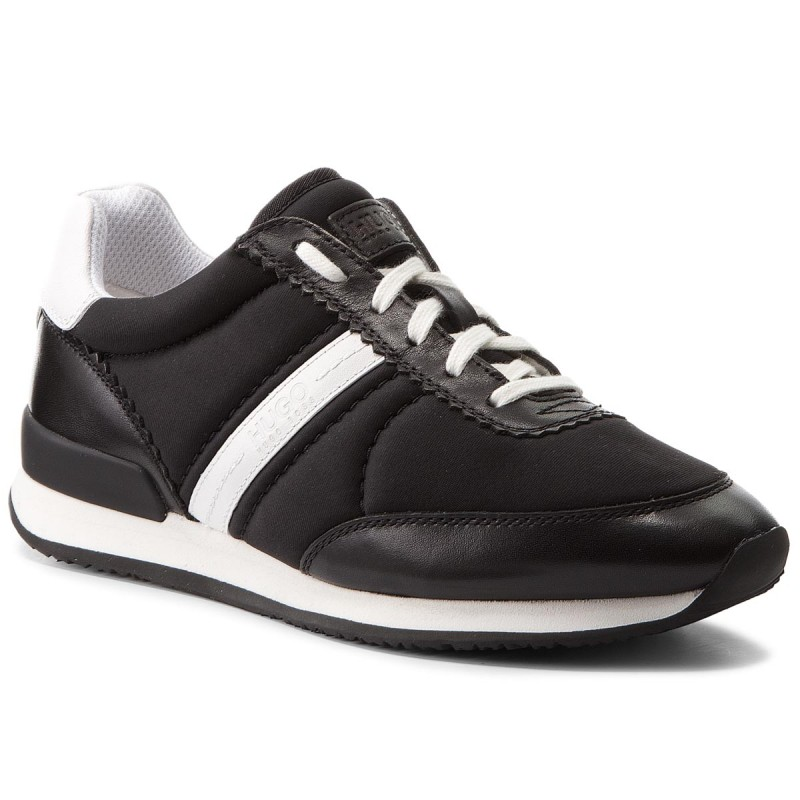 Sneakers BOSS-Harlem Adrienne 50386326 10202344 01 Black 001