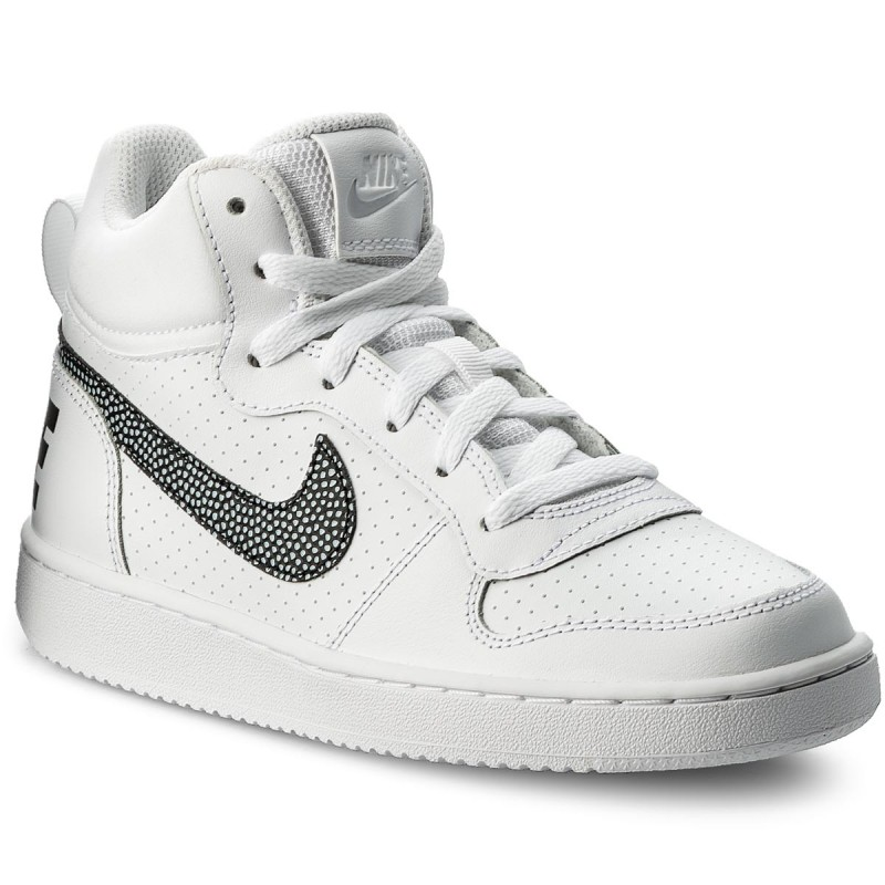 Schuhe NIKE-Nike Court Borough Mid (GS) 839977 105 White/Black