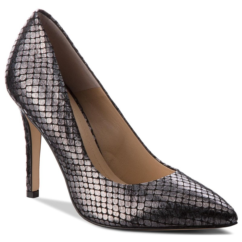 High Heels SOLO FEMME-34201-A7-I16/000-04-00 Antracyt