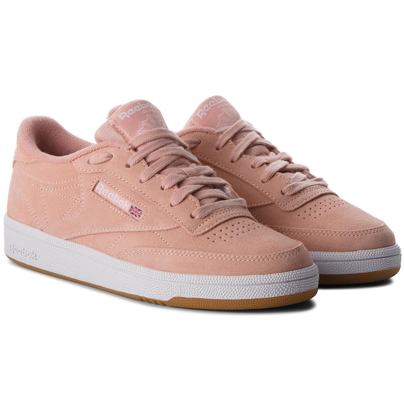 Schuhe Reebok-Club C 85 CN5202 Peach Twist/Gum/White
