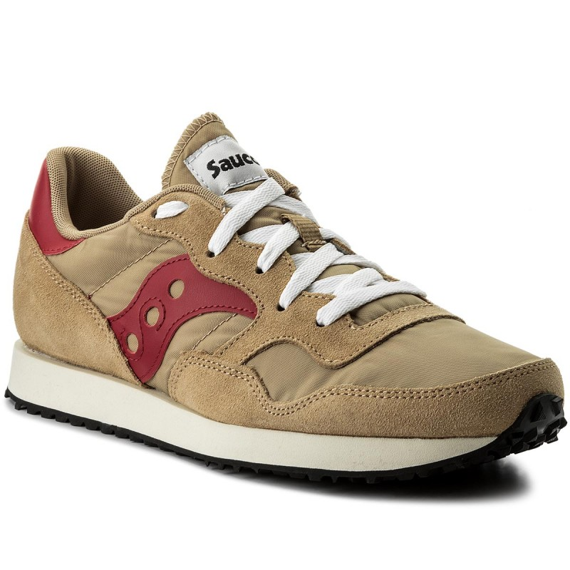 Sneakers SAUCONY-Dxn Trainer Vintage S70369-16 Tan/Red
