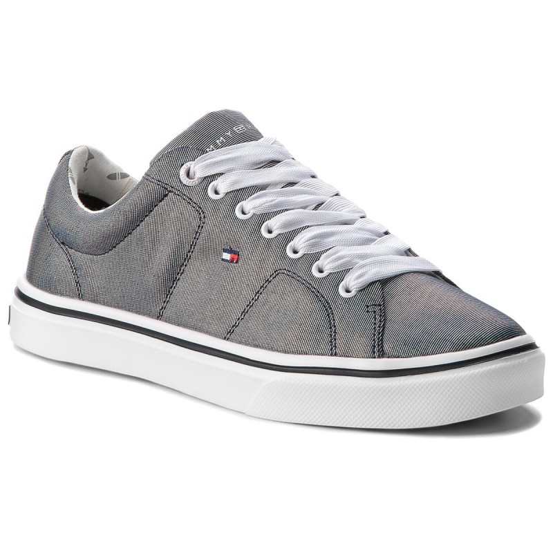 Sneakers TOMMY HILFIGER-Metallic Light Weight Lace Up FW0FW03028 Midnight 403
