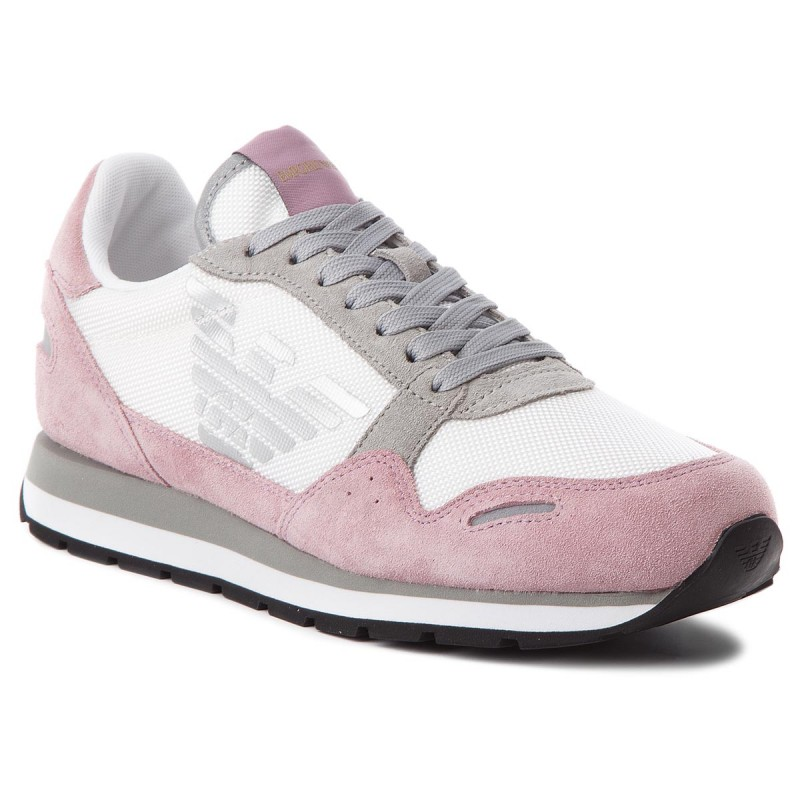 Sneakers EMPORIO ARMANI-X3X058 XL481 B047 Rose/Grey
