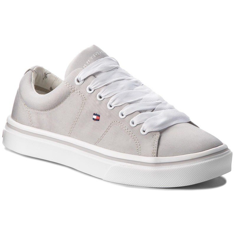 Sneakers TOMMY HILFIGER-Metallic Light Weight Lace Up FW0FW03028 Diamond Grey 001