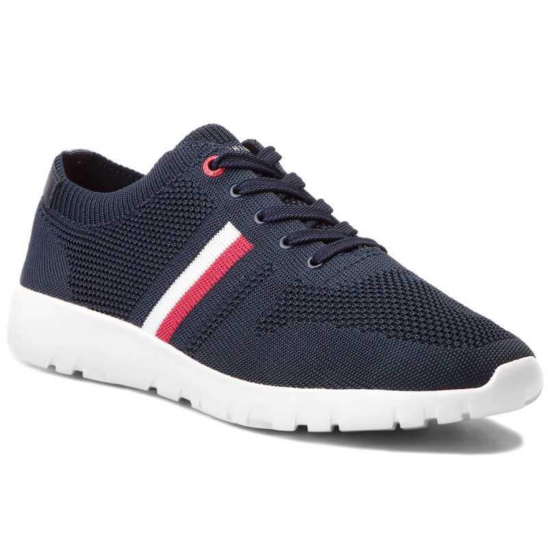 Sneakers TOMMY HILFIGER-Extra Lighweight Knitted Runner FM0FM01621  Midnight 403