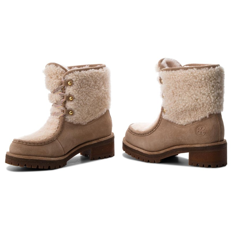 Trapperschuhe TORY BURCH-Meadow Boot 49197 Perfect Sand/Natural 256