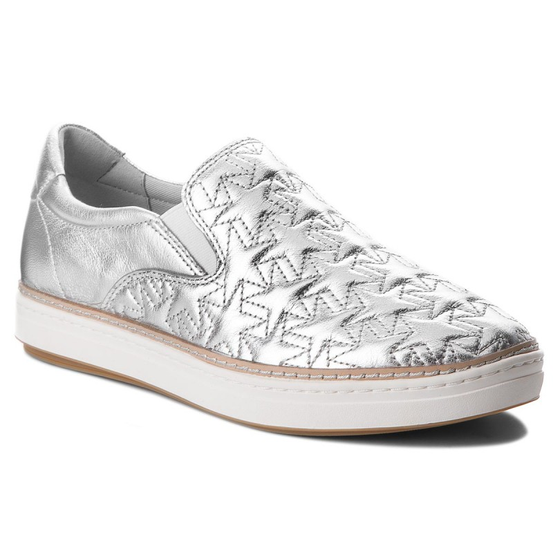 Turnschuhe TOMMY HILFIGER-Star Metallic City Sneaker FW0FW02980  Silver 000