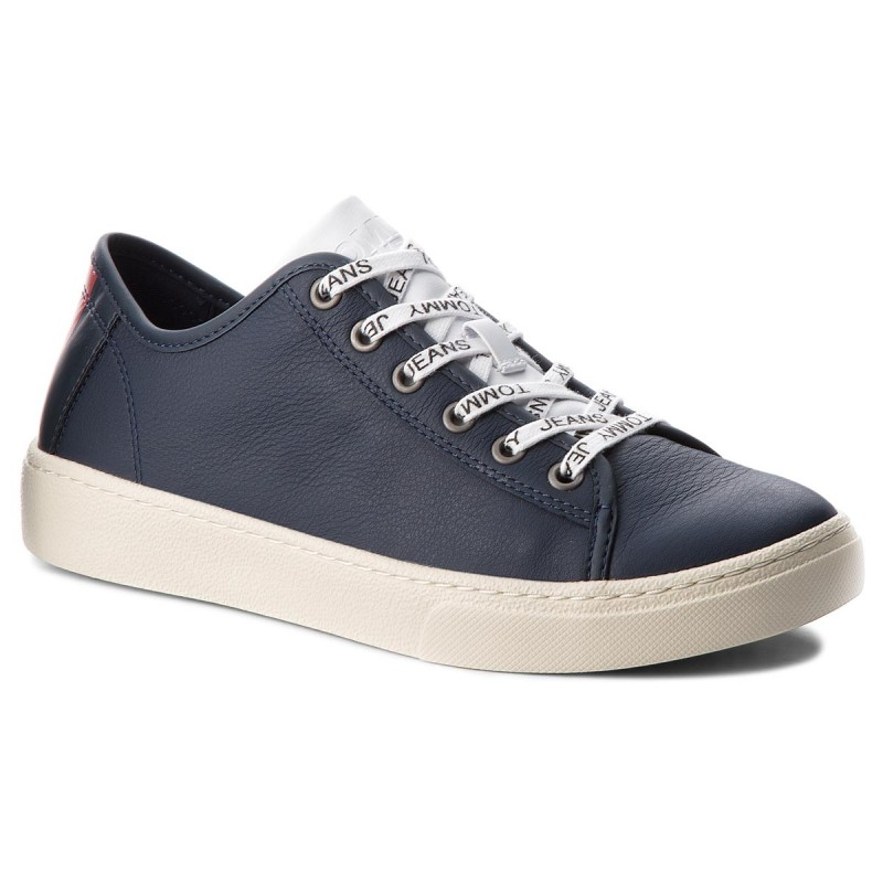 Sneakers TOMMY JEANS-Light Leather Low EM0EM00103 Black Iris 431