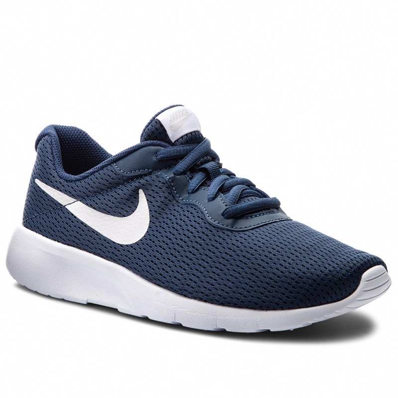 Schuhe NIKE-Tanjun (GS) 818381 403 Navy/Vast Grey/White