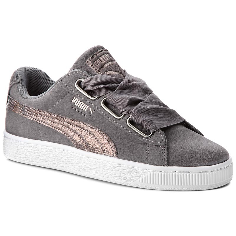 Sneakers PUMA-Suede Heart LunaLux Wn's 366114 01 Smoked Pearl