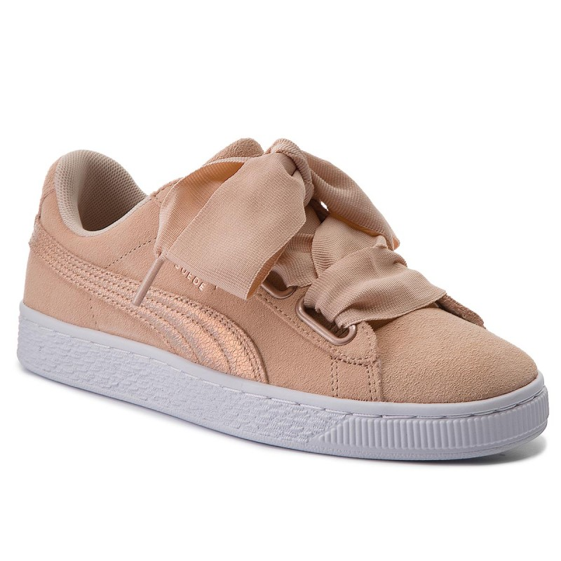 Sneakers PUMA-Suede Heart LunaLux Wn's 366114 02 Cream Tan