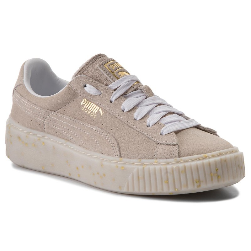 Sneakers PUMA-Suede Platform Celebrate 365621 02 Puma White/Puma Team Gold