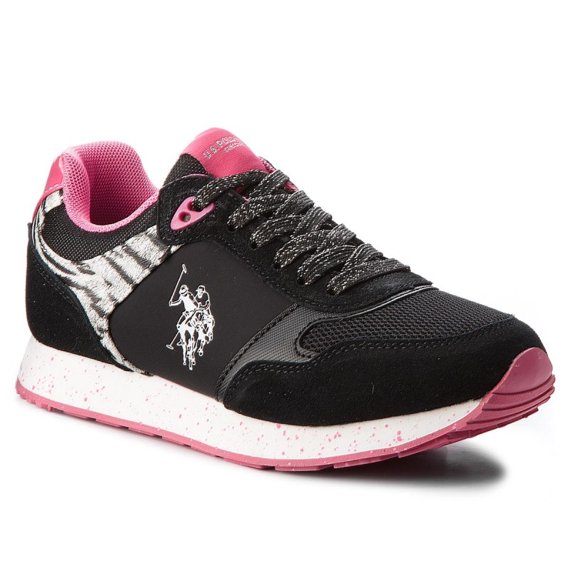 Sneakers US POLO ASSN-Thea FREE4030S8/LT1 Blk/Fux