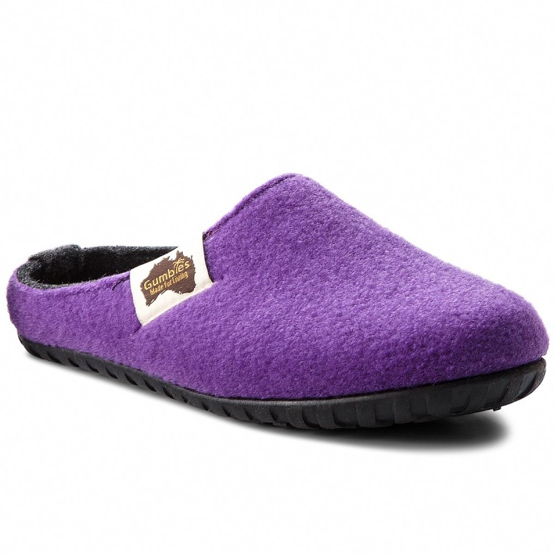 Hausschuhe GUMBIES-Outback Purple/Charcoal