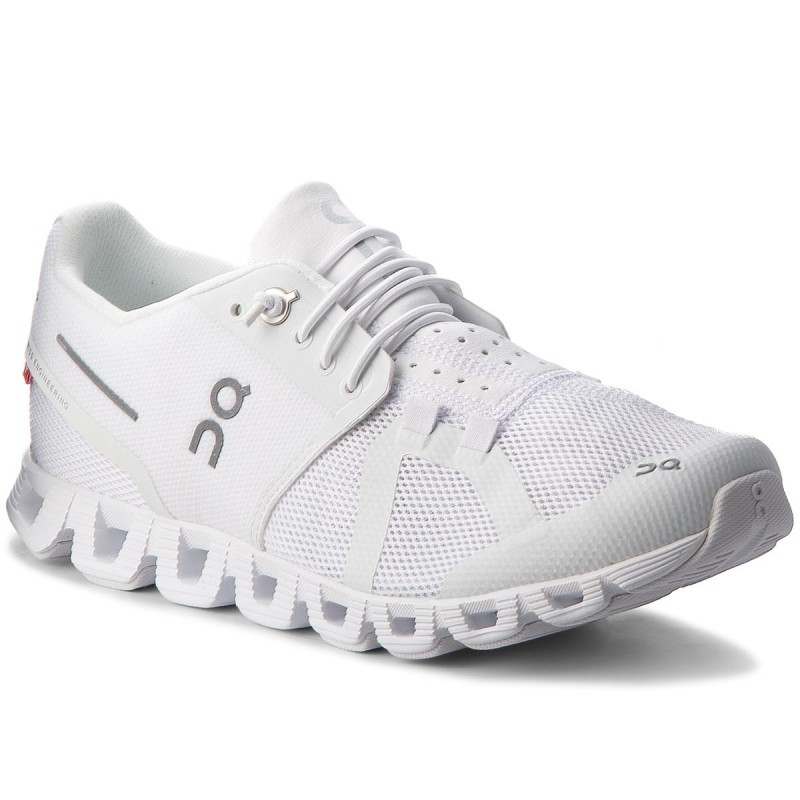 Schuhe ON-Cloud 000019 All White 0005