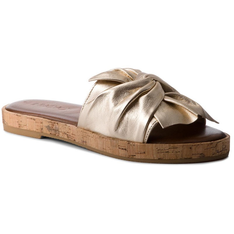 Pantoletten INUOVO-8266 Gold