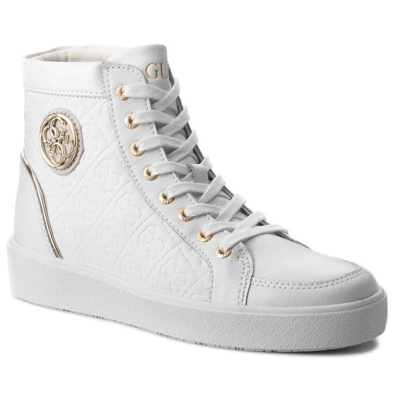 Sneakers GUESS-FLACE3 LEP12 WHITE