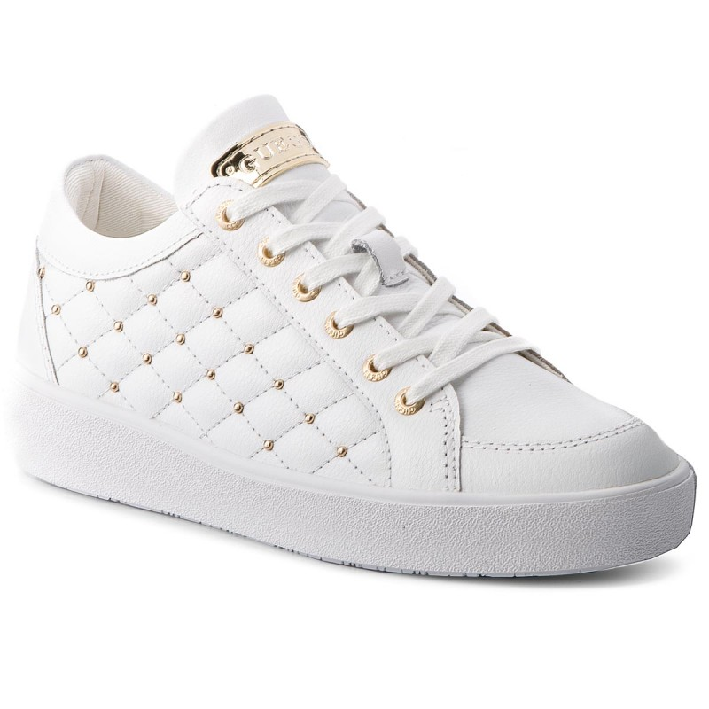 Sneakers GUESS-FLGLN3 LEA12 WHITE