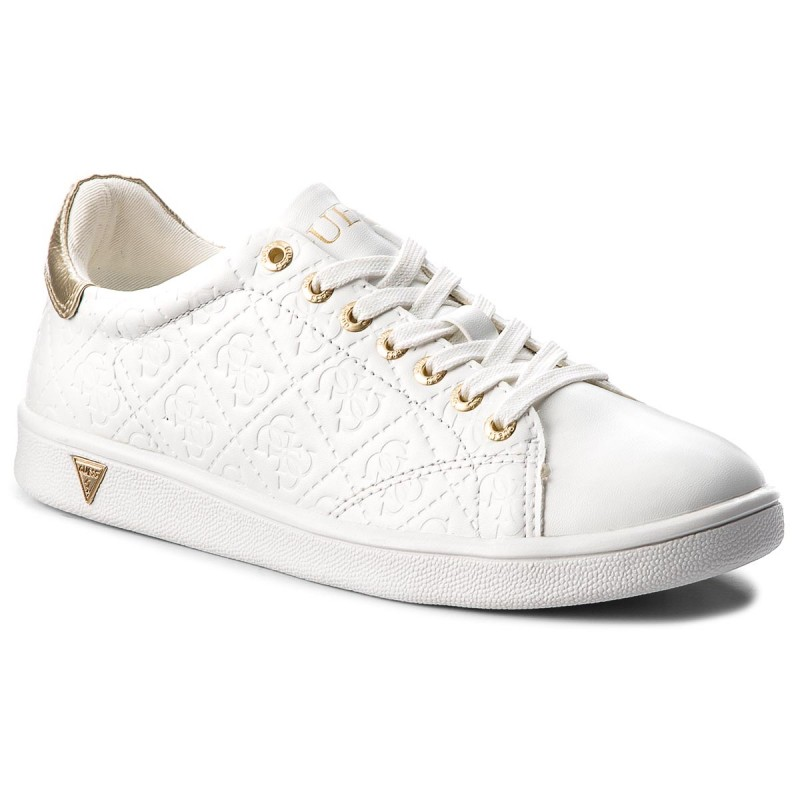 Sneakers GUESS-FLUPE3 ELE12 WHITE
