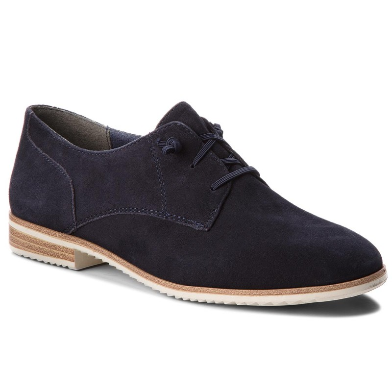 Oxfords TAMARIS-1-23204-20 Navy Suede 806