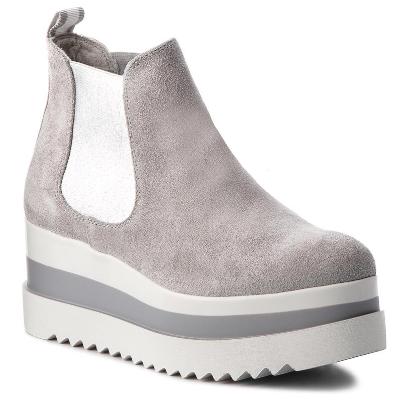 Stiefeletten TAMARIS-1-25409-30 Light Grey 204