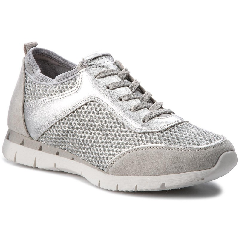 Sneakers MARCO TOZZI-2-23723-20 Silver Comb 948