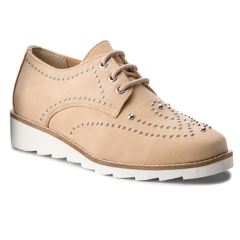Oxfords MARCO TOZZI-2-23751-20 Dune 404