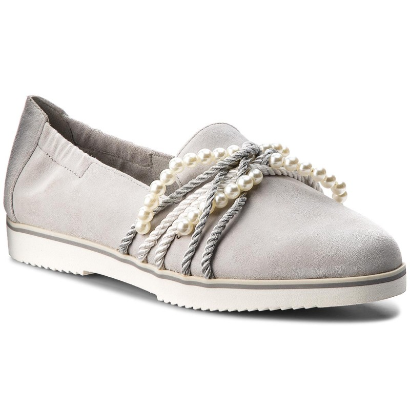Lords Schuhe TAMARIS-1-24218-30 Light Grey 204