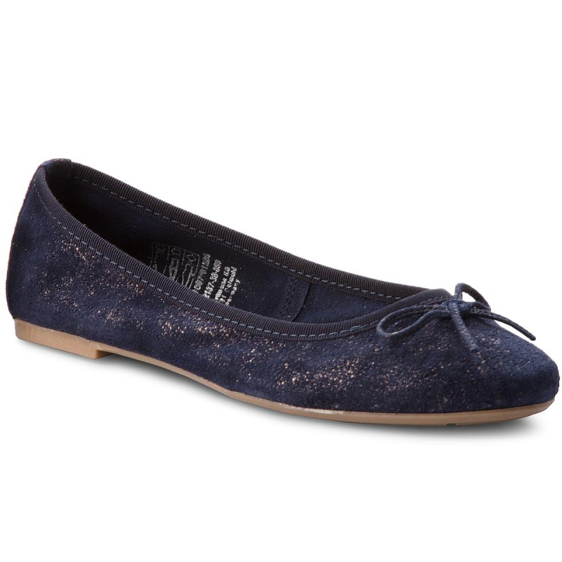 Ballerinas TAMARIS-1-22137-30 Navy/Pewter 861