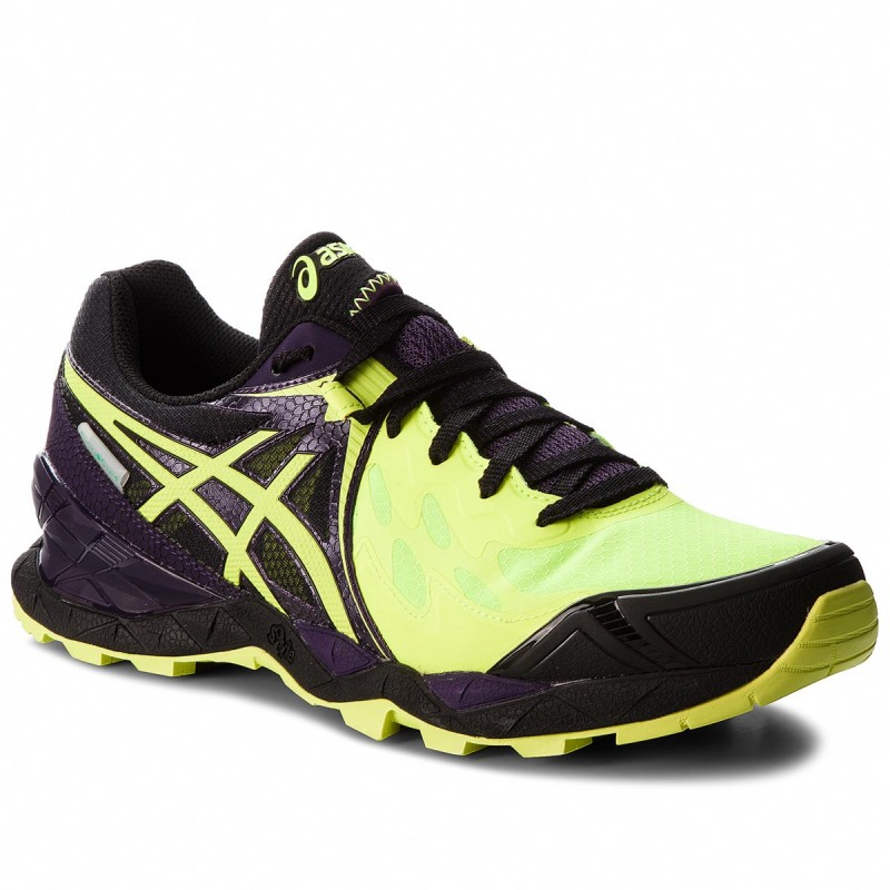 Schuhe ASICS-Gel-FujiEndurance PlasmaGuard T640N Safety Yellow/Infinity Purple/Black 0732