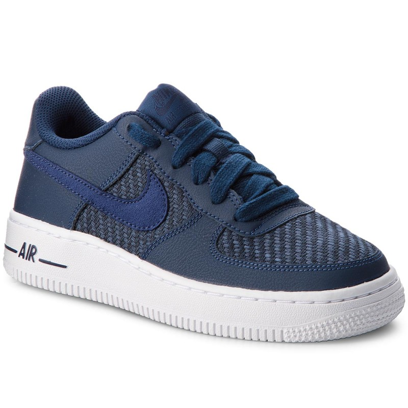 Schuhe NIKE-Air Force 1 Lv8 (GS) 820438 406 Navy/Navy/Midnight Navy/White