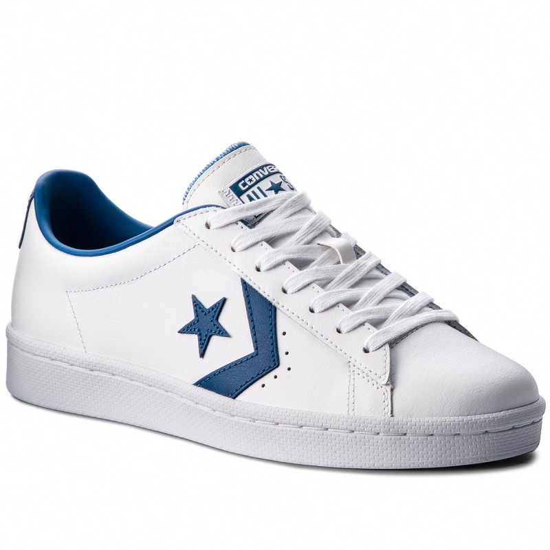 Sneakers CONVERSE-Pro Leather 76 Ox 157807C White/Blue Jay/White
