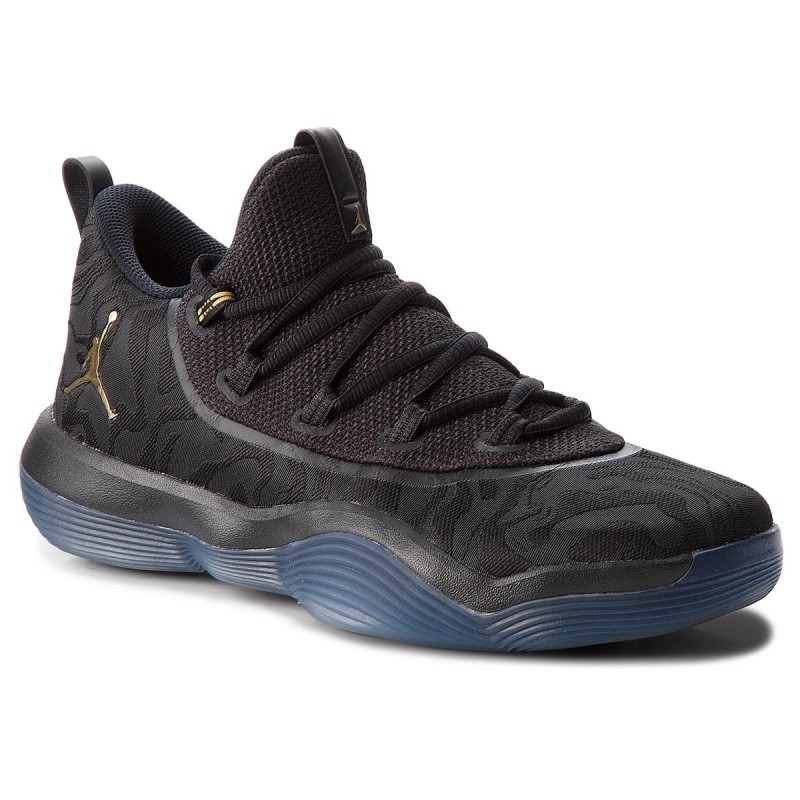 Schuhe NIKE-Jordan SuperFly 2017 Low AA2547 021 Black/Metallic Gold/Black